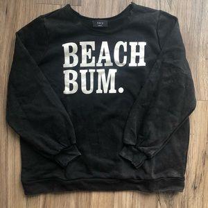 Vici distressed sweatshirt
